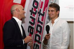 Nico Müller alla cerimonia dell'ASS a Berna