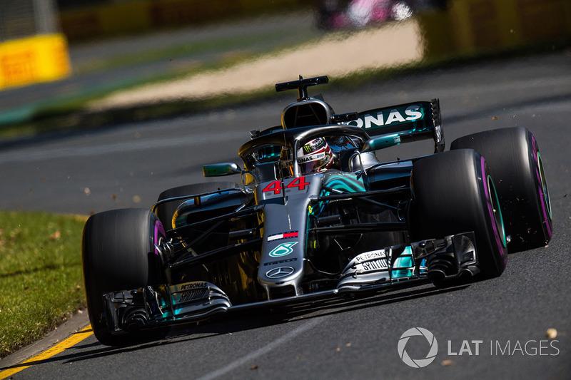 Australie - Lewis Hamilton, Mercedes