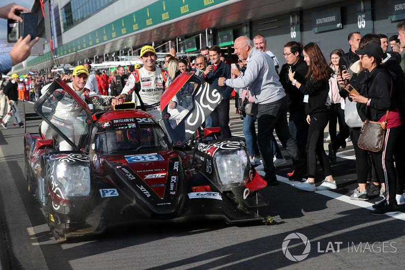 I vincitori LMP2 #38 Jackie Chan DC Racing Oreca 07 Gibson: Ho-Ping Tung, Gabriel Aubry, Stephane Richelmi