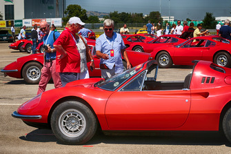 Celebrazioni per i 50 anni dalla messa su strada del primo esemplare della Ferrari Dino a Fiorano
