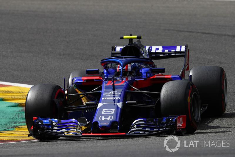 10 місце — П'єр Гаслі, Toro Rosso. Умовний бал — 9,70