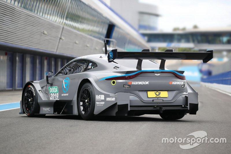 Tests de l'Aston Martin R-Motorsport à Jerez