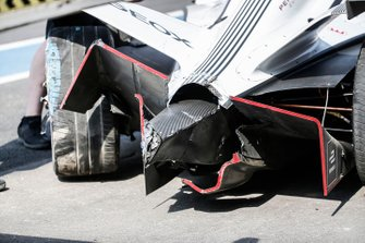 Damage to the Dragon car