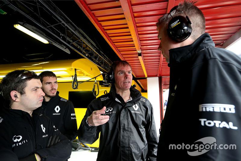 Alan Permane, Renault Sport F1 Team Streckeneinsatz-Direktor