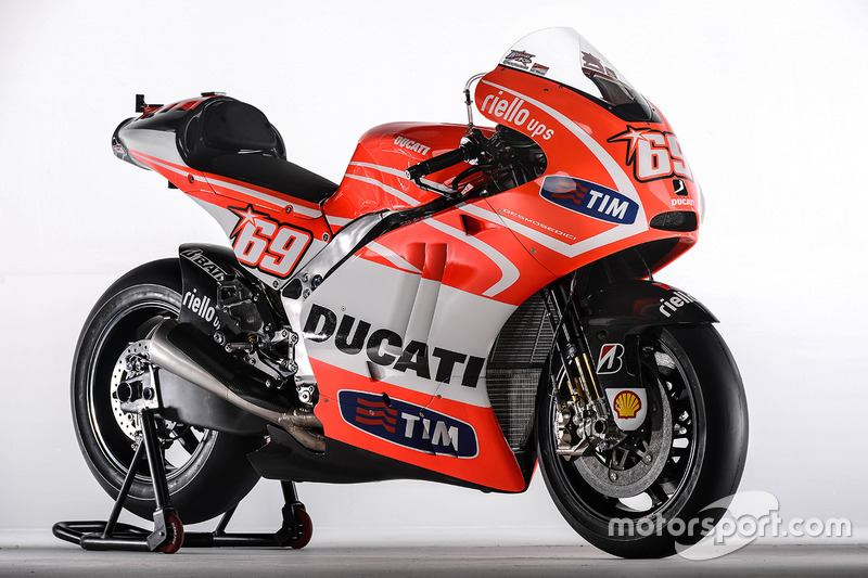 La Ducati Desmosedici GP13