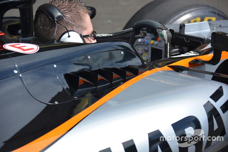 Деталь Sahara Force India F1 VJM09