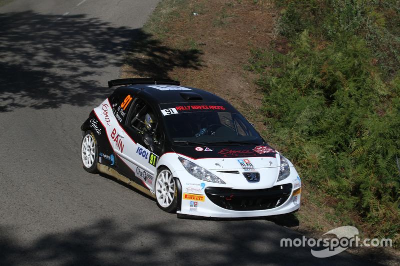Guy Fiori, Julien Tavera, Peugeot 207 S2000