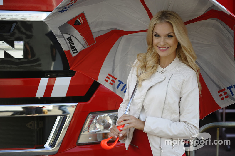 Lovely Ducati girl