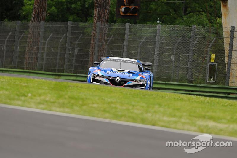 #8 V8 Racing, Renault RS01: Meindert Van Buuren, Oliver Freymuth