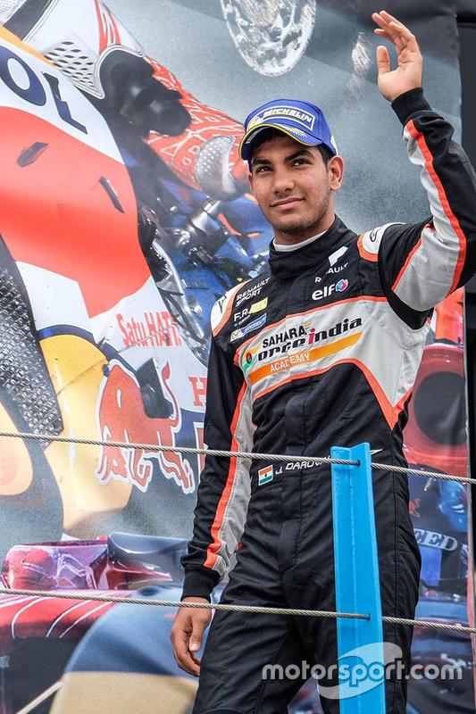 Podium: 3. Platz Jehan Daruvala, Josef Kaufmann Racing