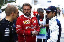 Руководитель операций Ф1 Ferrari Джино Рост, Валттери Боттас, Mercedes AMG F1, Фелипе Масса, Williams
