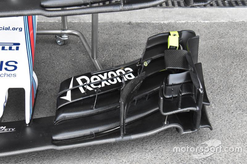 Детали переднего крыла Williams FW40
