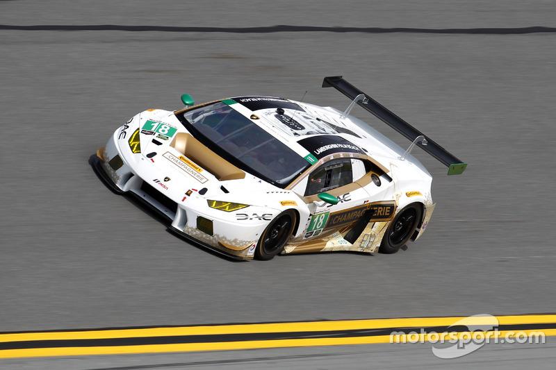 #18 DAC Motorsports Lamborghini Huracan GT3: Emmanuel Anassis,  Zachary Claman DeMelo, Anthony Massari