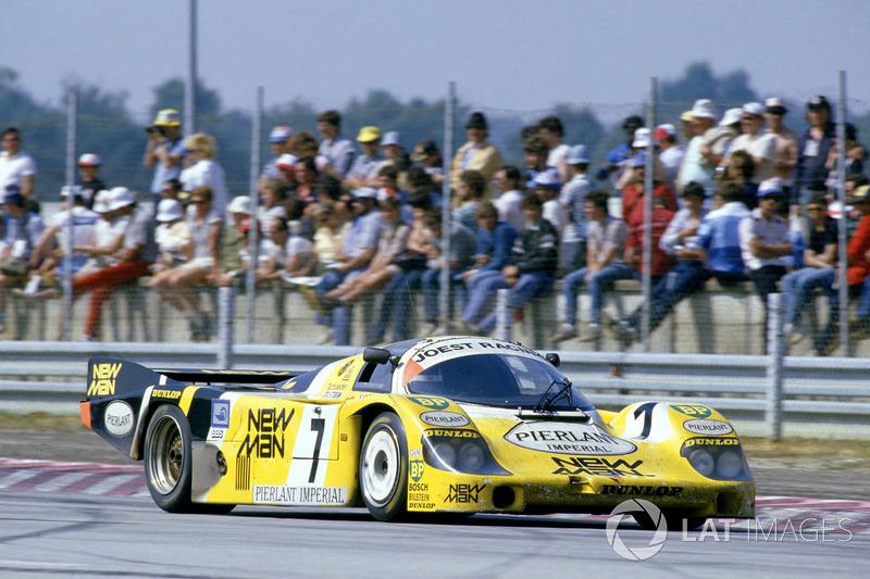 1984: Klaus Ludwig, Henri Pescarolo, Porsche 956