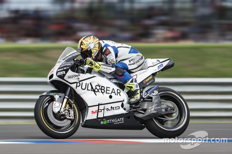Karel Abraham, Aspar Racing Team, inicio de la práctica