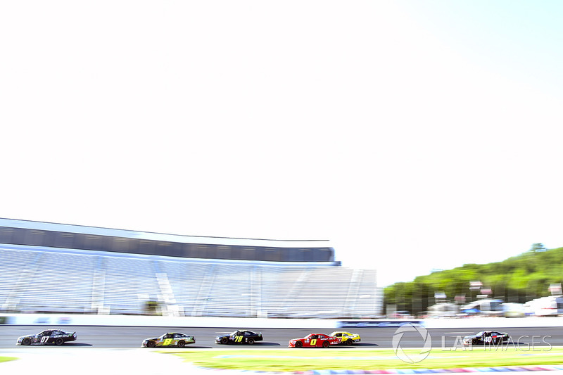 Ray Black Jr., SS-Green Light Racing Chevrolet and B.J. McLeod, BJ McLeod Motorsports Chevrolet