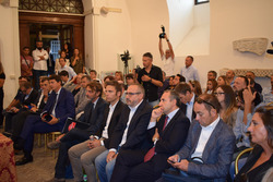 Gli ospiti presenti alla conferenza stampa