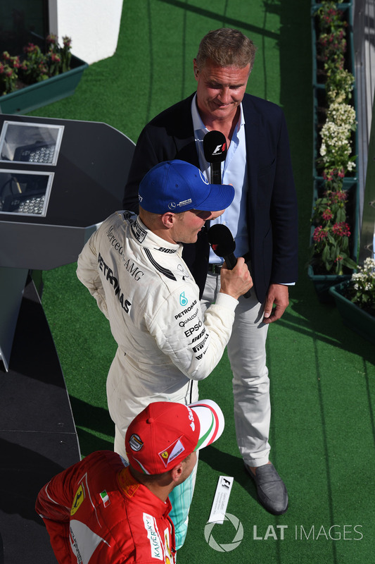 Валттері Боттас, Mercedes AMG F1 W08, Девід Култхард, Channel Four TV