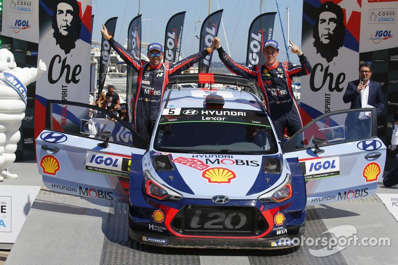 1. Thierry Neuville, Nicolas Gilsoul, Hyundai i20 Coupe WRC, Hyundai Motorsport