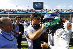 Felipe Massa, Williams en la parrilla
