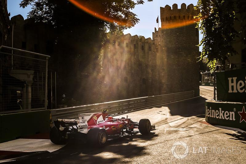5º Kimi Raikkonen, Ferrari SF70H (73 puntos)