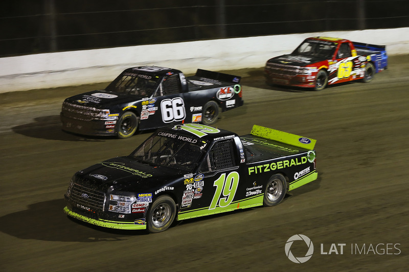 Austin Cindric, Brad Keselowski Racing Ford, Ken Schrader, Chevrolet