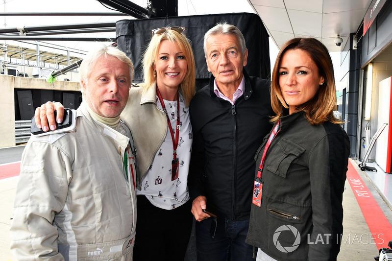Kevin Eason, Rachel Brooks, Tony Gardine, Natalie Pinkham, Sky Sports F1