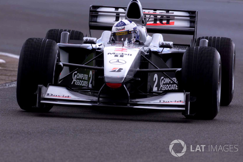 2000: David Coulthard, McLaren-Mercedes MP4/15