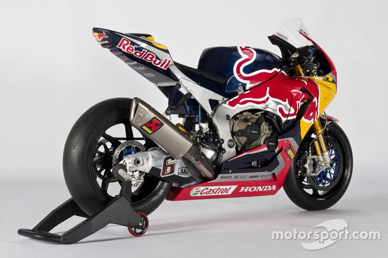 La moto di Stefan Bradl, Honda World Superbike Team