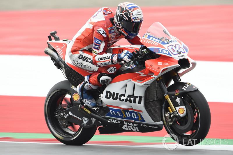 Андреа Довіціозо, Ducati Team