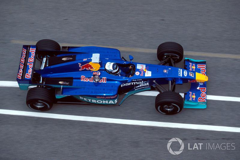 Septiembre 2000: Kimi Räikkönen