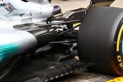 Lewis Hamilton, Mercedes AMG F1 W08: Aufhängung