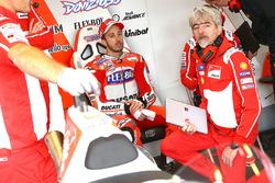 Andrea Dovizioso, Ducati Team, Gigi Dall'Igna, General Manager Ducati Team