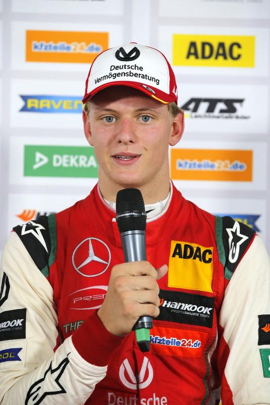 Conférence de presse, Mick Schumacher, PREMA Theodore Racing Dallara F317 - Mercedes-Benz