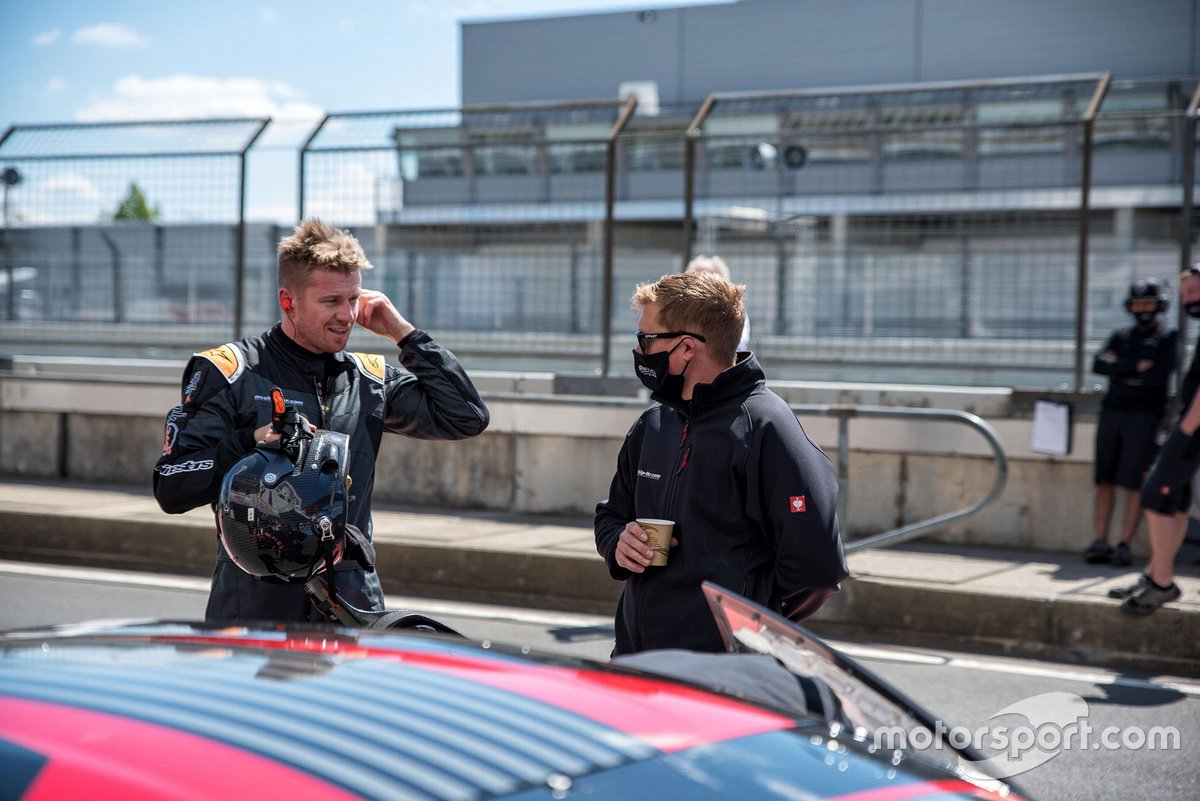Track day with Nico Hülkenberg