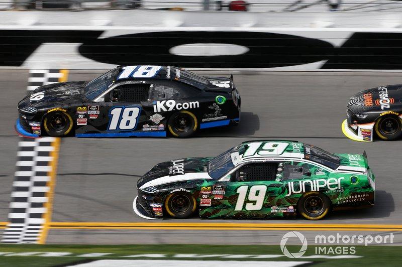 Jeffrey Earnhardt, Joe Gibbs Racing, Toyota Supra iK9 Brandon Jones, Joe Gibbs Racing, Toyota Supra Juniper