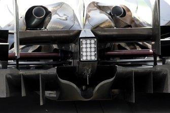 Brawn Grand Prix BGP001 rear diffuser