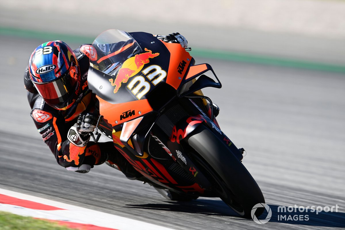 P10 Brad Binder, Red Bull KTM Factory Racing