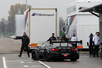 Bruno Spengler, BMW M4 DTM two-litre turbo'yu test ediyor