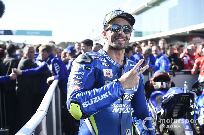 Друге місце Андреа Янноне, Team Suzuki MotoGP
