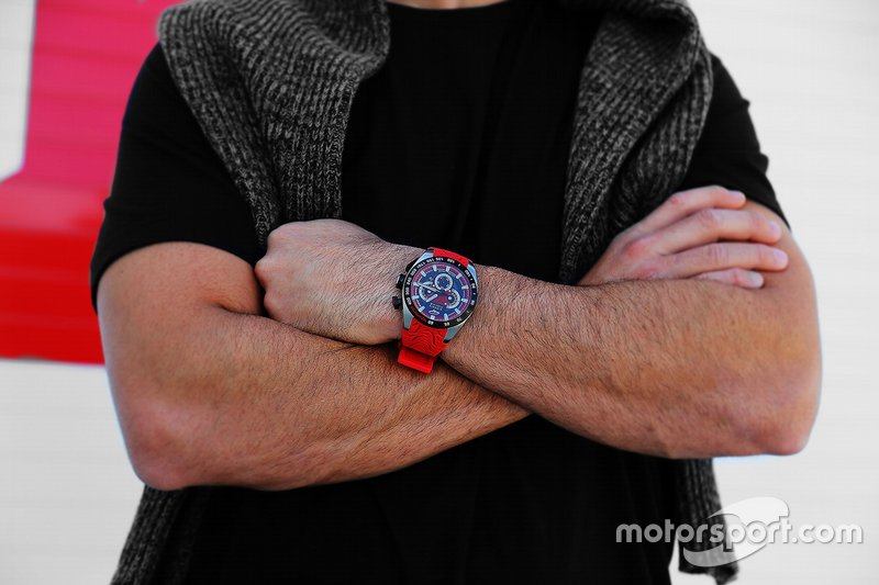 Giorgio Piola watch - Red