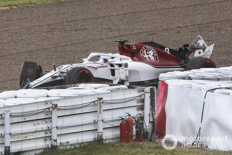 GP Jepang - Marcus Ericsson (kualifikasi)