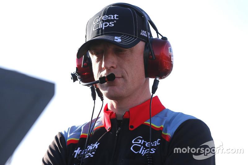 Keith Rodden, jefe de equipo Kasey Kahne, Hendrick Motorsports Chevrolet