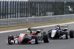 Mick Schumacher, Prema Powerteam, Dallara F317 - Mercedes-Benz, David Beckmann, Motopark, Dallara F3
