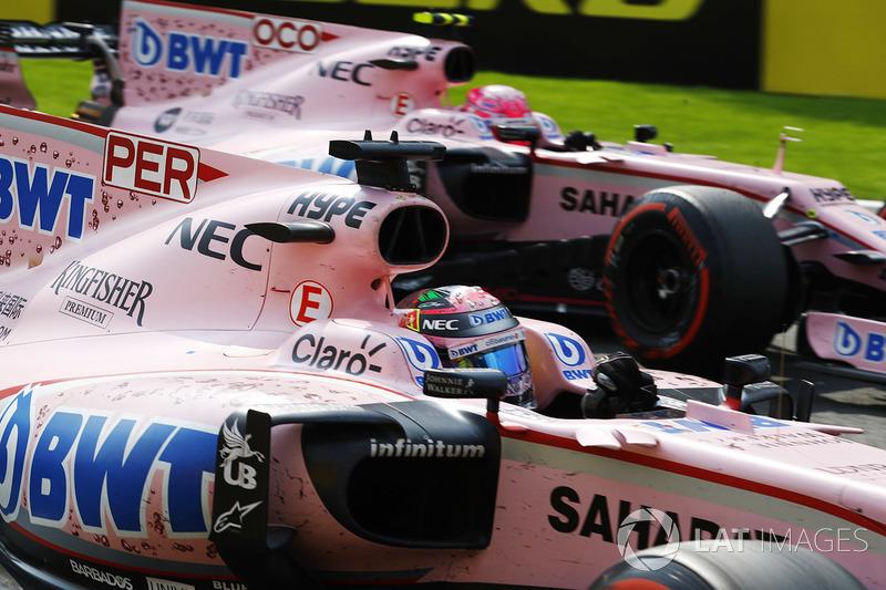 Perez i Ocon Force India