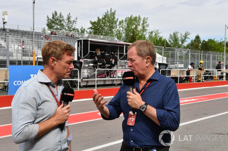 Simon Lazenby, Sky TV, Martin Brundle, Sky TV