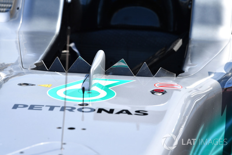 Windscherm Mercedes W08