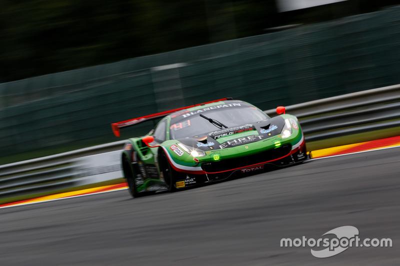 #488 Rinaldi Racing Ferrari 488 GT3: Rino Mastronardi, Patrick Van Glabeke, Pierre Ehret, Gabriele Lancieri