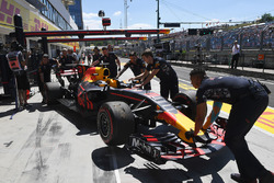 The car of Daniel Ricciardo, Red Bull Racing RB13