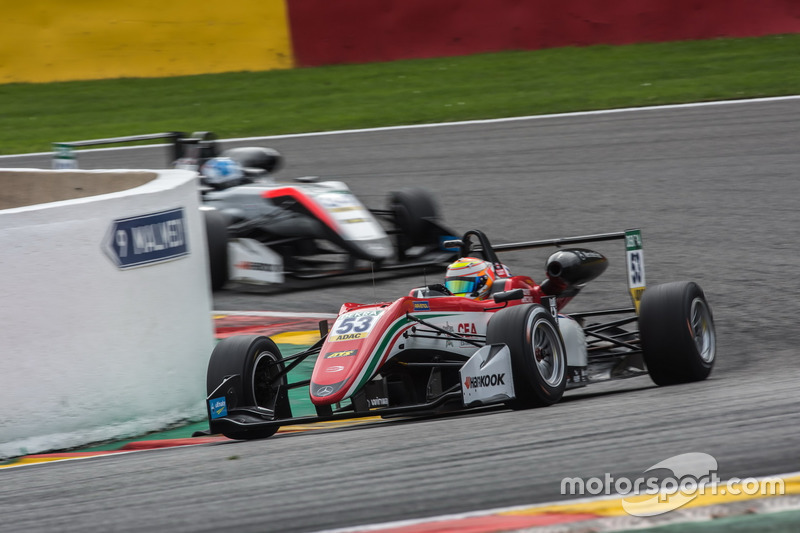 Каллум Ілотт, Prema Powerteam, Dallara F317 - Mercedes-Benz